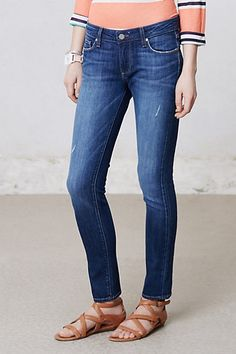 Paige Skyline Ankle Jeans #anthropologie