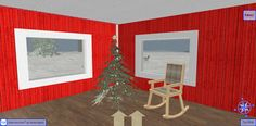 Christmas inside the Toy Store on Snow Island in 3D Browsing at Walk the Web!