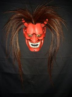 1950's Oni mask for Japanese Noh theater