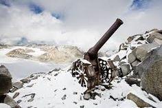cannoni della prima g.m. sulle alpi,la guerra bianca