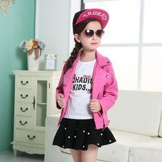 PU Leather Jacket for Kids | Furrple