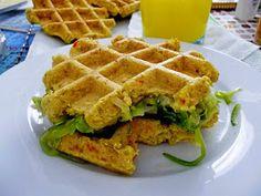 Universo dos Alimentos: Waffles de...