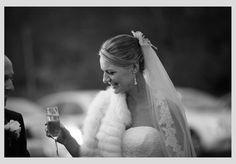 The bride wears a shrug Wedding Advice, Post Wedding, Fall Wedding, Ireland Wedding, Irish Wedding, Christmas Wedding Flowers, Wedding Planner, Destination Wedding, Bride Veil