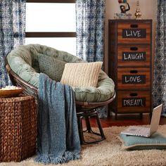 Papasan Chair Frame - Brown