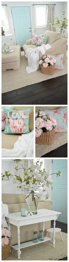 I love sharing my eclectic cottage-farmhouse decorating ideas with you, like this fun aqua blue painted interior door. Such a fast, fun way to add some whimsical style to your home, without doing anything too drastic or permanent! Did you know you can a paint a door in about 30 minutes? I change mine often and enjoy the different vibes the color changes offer for so little money. I'll show you how at ww.foxhollowcottage.com xo Shannon