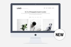 Lino - Wordpress Portfolio Theme by PanKogut on Creative Market