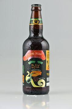 Cerveja Wensky Beer Saci, estilo Amber Lager, produzida por Wensky Beer, Brasil. 5.1% ABV de álcool.