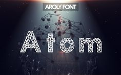 Aroly Fontis a polygonal heading font. Since polygon made a huge trend, so…