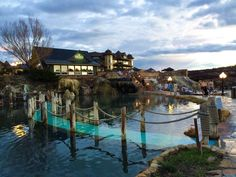 23 Hot Spring Mineral Pools Terraced On The Banks Of San Juan River In Downtown Pagosa Springs