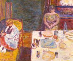 Before Dinner, Pierre Bonnard