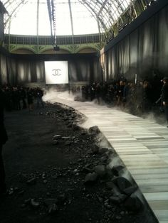 Chanel's Catwalk in Paris