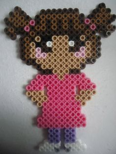 Boo Monsters Inc perler beads by by PerlerHime