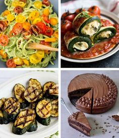 These Vegan Zucchini Recipes are great if you would like to make a healthy dinner or lunch. You can make your zucchini stuffed, grilled, into casserole, patties or meatballs. A filling, veggie-packed meal will provide you with plenty nutrition and fiber. Most of these recipes are kid-friendly, too!