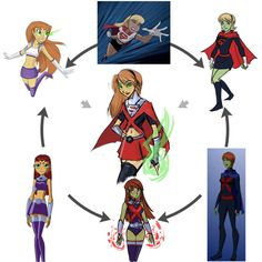 Mother Box fused Supergirl, Miss Martian and Starfire Novel Movies, Comic Movies, Young Justice, Teen Titans, Comic Character, Character Design, Cartoon Mom, Cartoon People, Miss Martian