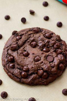 Galleta XXL de chocolate con chispas de chocolate: | 20 Maneras diferentes de hacer galletas con chispas de chocolate