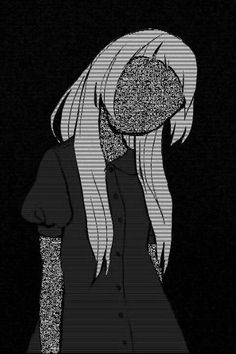 ideas for sad art anime people Aesthetic Art, Aesthetic Anime, Art Noir, Creepy, Bd Art, Anime Triste, Vent Art, Arte Obscura, Estilo Anime