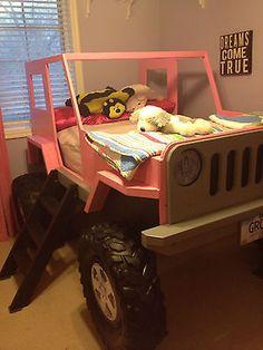 Jeep Bed Wood Working Plans - DIY Kids Bed