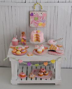 Miniature Birthday Buffet
