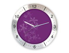 Değişik Metal Duvar Saati  Ürün Bilgisi;  Aliminyum Çerçeve Çap 350 mm. Mineral Cam Sessiz Akar Saniye