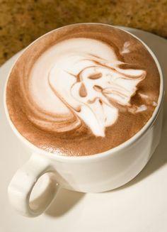 Starwars latte art