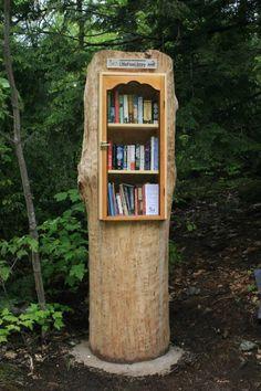 Little Free Library #5017 in Muskoka Lakes, Ontario