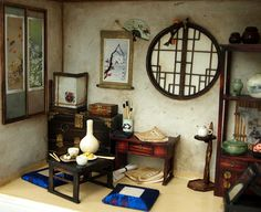 The orient traditional room No1 asian old things by DollhouseAra