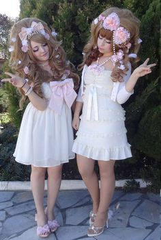 Gyaru Fashion, Dolly Fashion, Harajuku Fashion, Japan Fashion, Kawaii Fashion, Lolita Fashion, Pink Fashion, Style Lolita, Mode Lolita