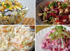Tipy a triky Impressive Desserts, Coleslaw, Quick Meals, Food Art, Food Videos, Food Inspiration, Kids Meals, Feta, Potato Salad