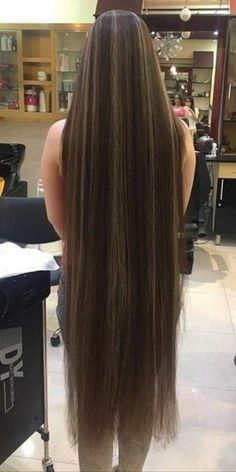 Open Hairstyles, Permed Hairstyles, Braided Hairstyles, Hair Today Gone Tomorrow, Rapunzel Hair, Extreme Hair, Long Brown Hair, Super Long Hair, Silky Hair