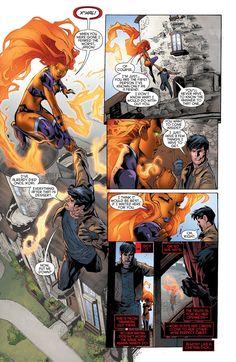 Red Hood and the Outlaws 017 ………. Starfire Comics, Nightwing And Starfire, Redhood And The Outlaws, Original Teen Titans, Red Hood Jason Todd, Read Comics Online, Dc Comics Art, Cosmic Comics, New 52