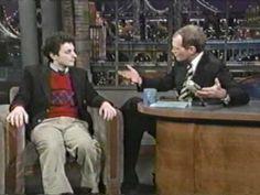 Harmony Korine on Letterman 1997