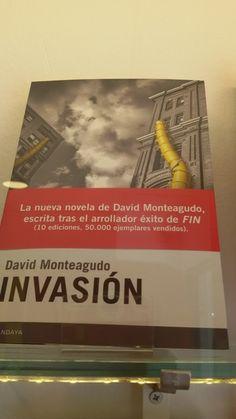 """""""Invasión"""" de David Monteagudo. Candaya Editores."""