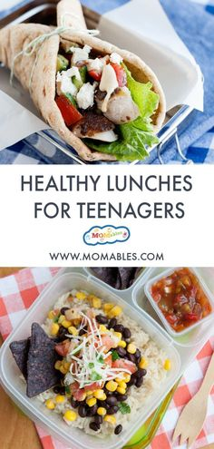 Healthy Chicken Burrito Bowls 2019 Keep your teenager fueled throughout the day with these healthy school lunch ideas for teens that are easy to make and delicious to eat! The post Healthy Chicken Burrito Bowls 2019 appeared first on Lunch Diy. Lunch Snacks, Clean Eating Snacks, Healthy Eating, Healthy Food, Raw Food, Bag Lunches, Snacks List, Work Lunches, Kid Snacks