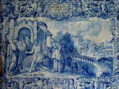 www.retabloceramico.com Consolar al triste - Panel de azulejos en el interior de la Iglesia de la Misericordia de Viana do Castelo