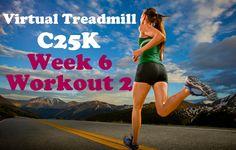 Virtual Treadmill C25K Week 6 - Workout 2