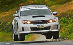 In 2011 Subaru USA arranged for Mark Higgins to complete a lap of the IOM TT course in a near-stock Subara Impreza WRX STi. The aim was to average over 100mph, but in fact Mark averaged 115mph hitting a peak of 162mph after only two full practice laps of the 37 mile course.