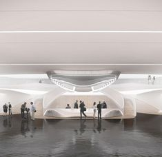 architectural visualization Surfstadion 2020 olympic from dominic mimlich - Austria 2020 Olympics, Austria, Opera House, Photo And Video, Architecture, Building, Travel, Instagram, Design