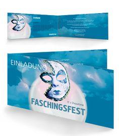 Faschingsfest Einladungskarte von www.onlineprintxxl.com #faschingsfest #faschingeinladung #faschingseinladungskarte