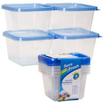 Storage for pom poms, beads, and other small items.