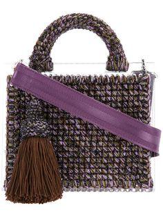 317 mejores imágenes de bolsos crochet | Crochet bags, Beige
