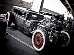 Rat Rod - Kustom Kills Hot Rod Thrills Car Show 2011