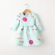 $12.68 (Buy here: https://alitems.com/g/1e8d114494ebda23ff8b16525dc3e8/?i=5&ulp=https%3A%2F%2Fwww.aliexpress.com%2Fitem%2FKids-Princess-Dress-for-Girls-Clothes-2015-Toddler-Girl-Dresses-Long-Sleeve-Animal-Printed-Children-Clothing%2F32526123382.html ) Kids Princess Dress for Girls Clothes 2016 Toddler Girl Dresses Long Sleeve Animal Printed Children Clothing baby girl dress for just $12.68