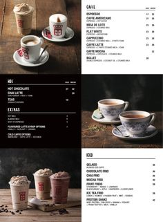 Awaken your soul with the exquisite taste of one of our carefully blended signature Estrela coffees. No matter the weather, we have a coffee for you! Espresso Bar, Espresso Drinks, Your Soul, V60 Coffee, Coffee Break, Mochi, Coffee Maker, Menu, Tableware