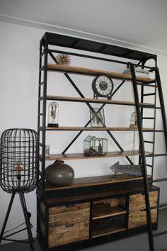 Ladder Bookcase, Shelves, Home Decor, Shelving, Decoration Home, Room Decor, Shelving Units, Home Interior Design, Planks