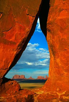 ✯ Monument Valley from Rock Door Mesa, Monument Valley, Utah/Arizona