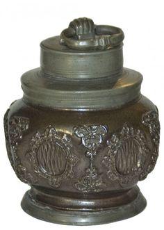Kreussen Circa 1650 Stoneware Screw Jug : Lot 299