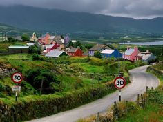 Allihies, the Beara Peninsula, West Cork. So beautiful it brings tears to my eyes when I see it.