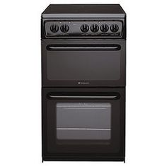£343 Hotpoint HAE51K Black Electric Cooker