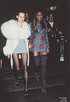 90´s fashion. Kate & Naomi