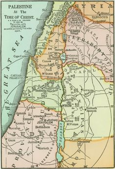 Palestine at the time of Christ